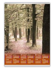 Kalendarze ścienne z własnym nadrukiem